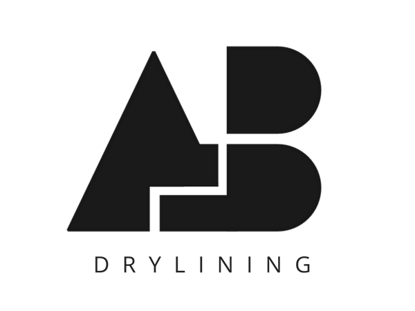 AB Drylining logo with strap