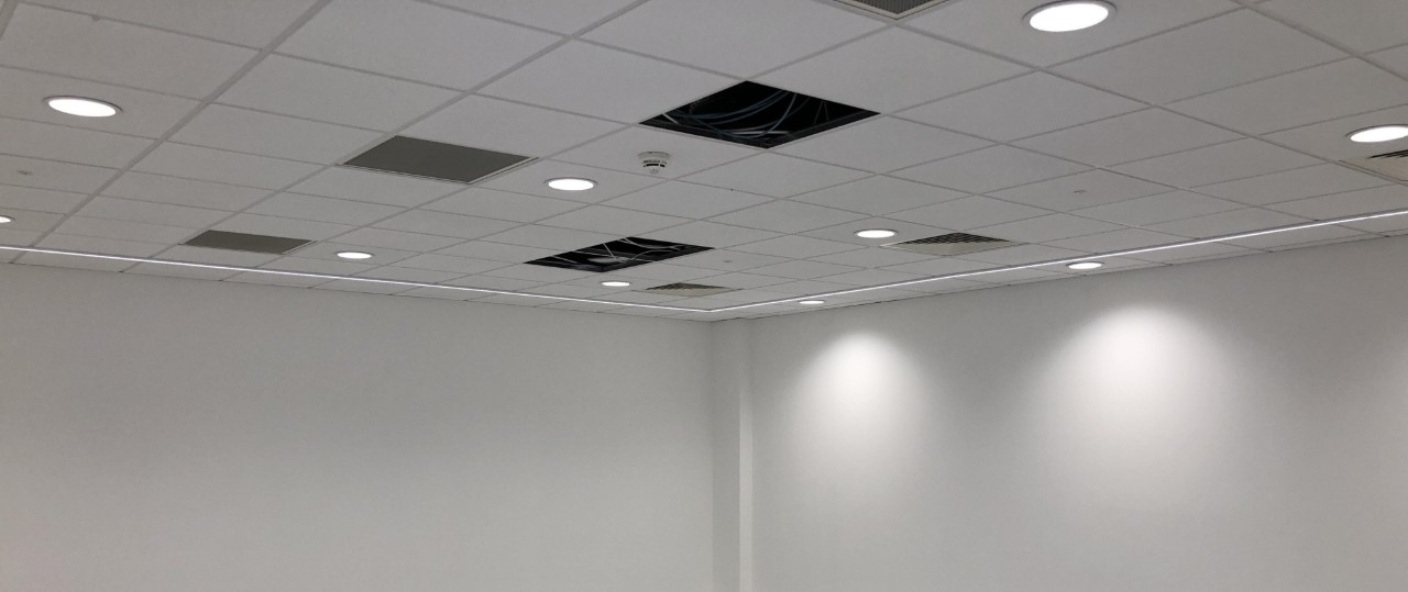 Suspended Ceiling Contractors - MF | Plasterboard | Floating | Dropped